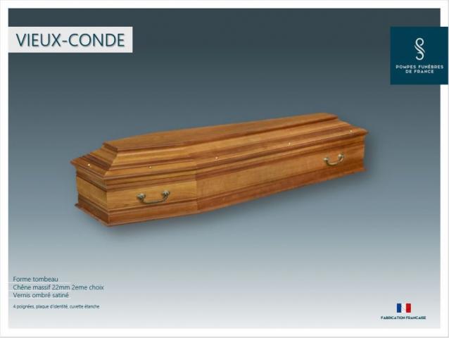 Cercueil inhumation Vieux Condé