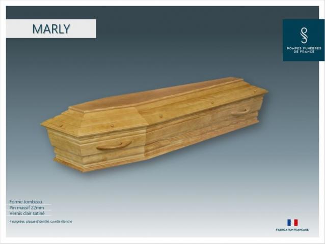 Cercueil crémation Marly