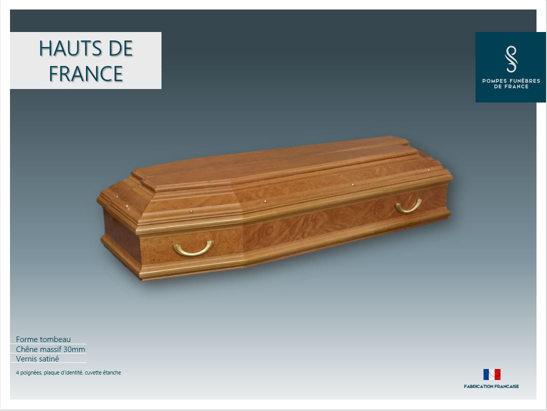 Cercueil inhumation Hauts de France